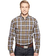 Roper - 0554 Green River Plaid Button