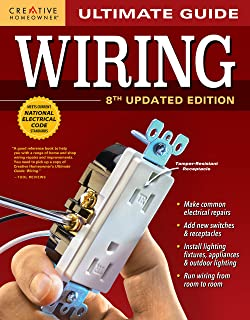 Ultimate Guide: Wiring, 8th Updated Edition (Creative Homeowner) DIY Home Electrical..