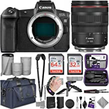 Canon EOS R Mirrorless Digital Camera and Canon RF 24-105mm Lens with Altura Photo Complete Accessory and Travel Bundle