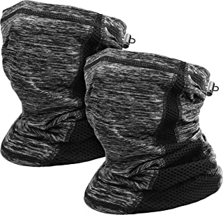 KKD Neck Gaiter Mask, Cooling Breathable Face Cover Lightweight Face Scarf Cooling Bandana