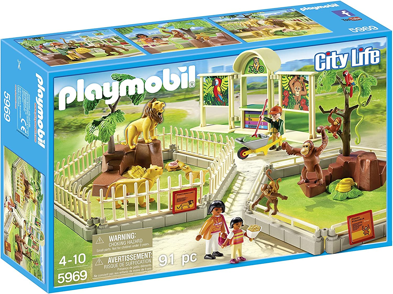 PLAYMOBIL 5969 City Zoo Playset