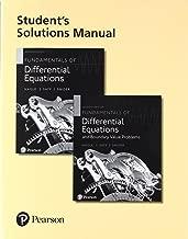 طالب من حلول اليدوية لهاتف Fundamentals من التفاضلي equations و Fundamentals من التفاضلي equations و boundary القيمة مشاكل