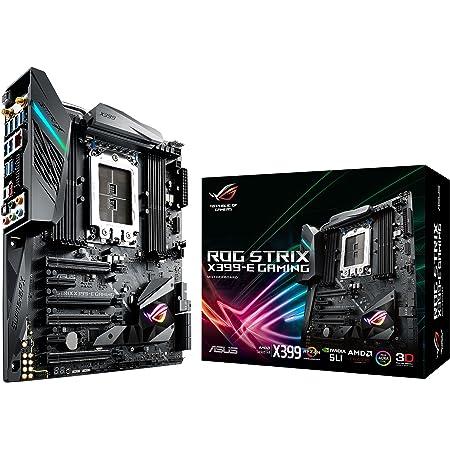 ASUSTek AMD X399搭載 TR4対応 マザーボード ROG STRIX X399-E GAMING 【E-ATX】