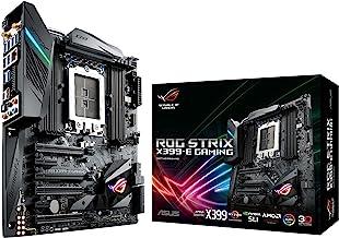ASUS ROG STRIX X399-E GAMING AMD Ryzen Threadripper TR4 DDR4 M.2 U.2 X399 EATX HEDT Motherboard with onboard 802.11AC WiFi...