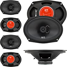 CT Sounds 6×9 Inch Coaxial Car Speakers (Pair) – 2 Way Full Range, 40W (RMS) |..