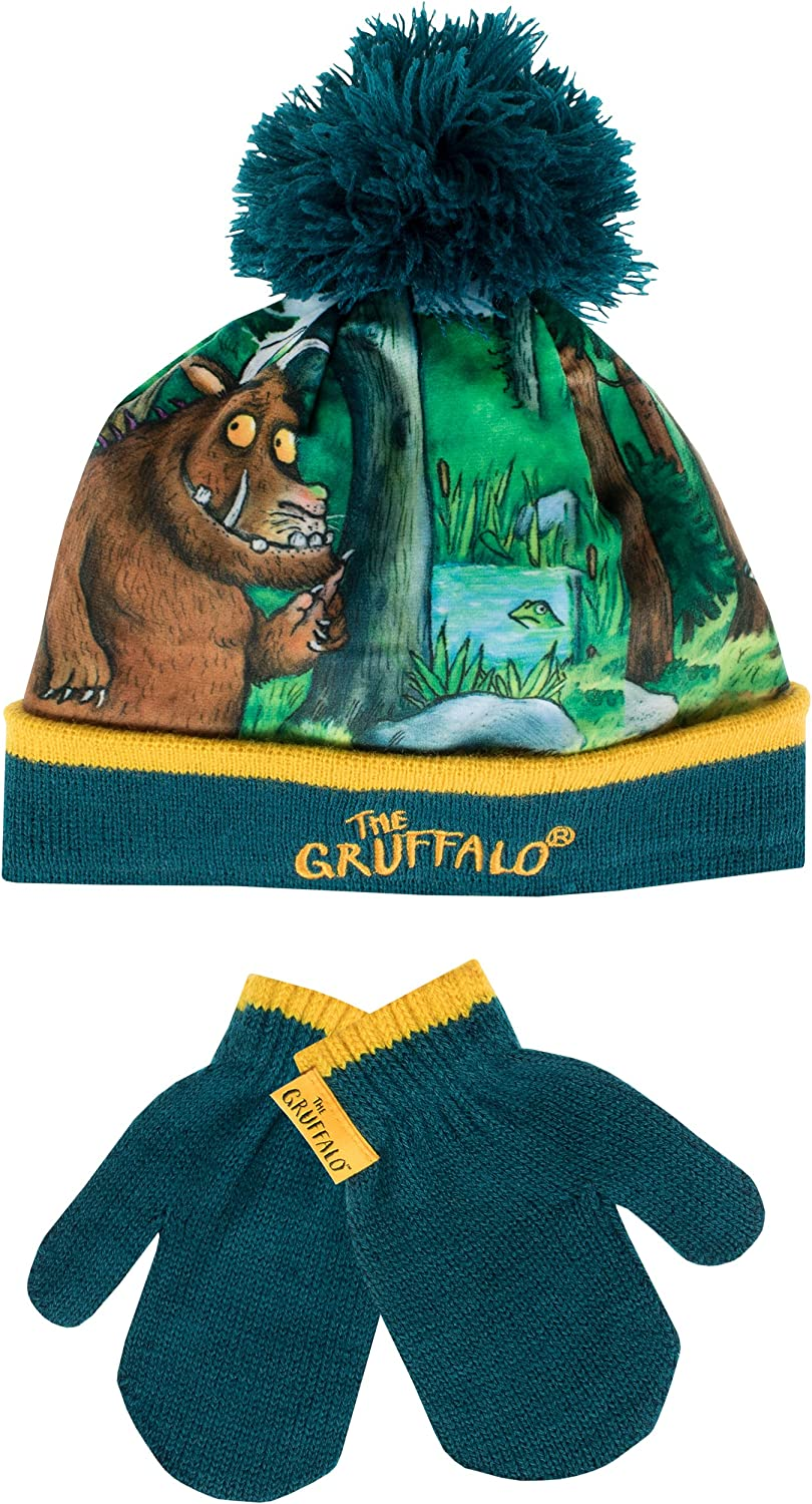 Gruffalo The Boys Hat and Gloves Set Size 1-2 Years