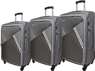 Track Luggage 3 Pieces Grey Color