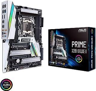 ASUS Prime X299-Deluxe II X299 Motherboard LGA2066 (إنتل كور إكس) ATX DDR4 M.2 U.2 ثاندربولت 3 USB 3.1 مع جيجابت مزدوج ووا...