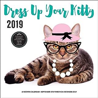 Dress Up Your Kitty 2019: 16-Month Calendar - September 2018 through December 2019