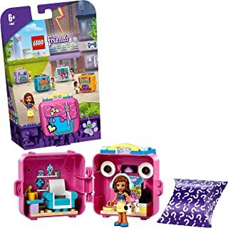 LEGO 41667 Friends Olivia's Gaming Cube Play Set, Collectible Travel Toy for Kids 6+ Years Old with Mini Doll, New 2021