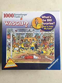 Ravensburg WASGIJ Soccer Madness 1000 Piece Puzzle
