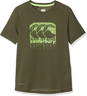 Canterbury Children's Vapodri Poly Large Logo T-Shirt