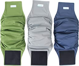 Paw Legend Washable Dog Belly Wrap Diapers Male Dog (3 Pack)