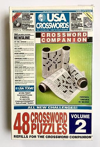 Precio por piso USA Crosswords Volume Volume Volume 2 Refill For The Crossword Companion by Roll-a-puzzle  mejor opcion