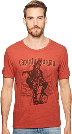 Lucky Brand - Captain Morgan Rum Tee