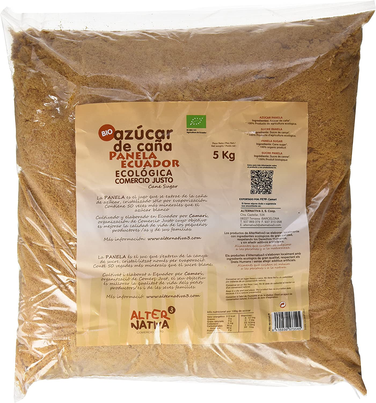 AlterNativa3 - Azúcar Panela Bio Alternativa, 5kg