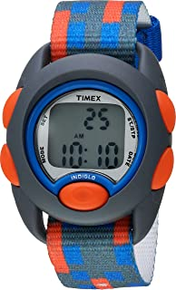 Boys TW7C12900 Time Machines Digital Gray/Blue/Red Fabric...