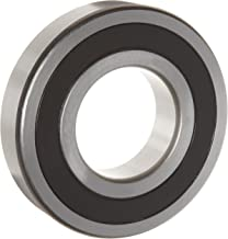 WJB 6309-2RS Deep Groove Ball Bearing, Double Sealed, Metric, 45mm ID, 100mm OD, 25mm Width, 11900lbf Dynamic Load Capacity, 7200lbf Static Load Capacity