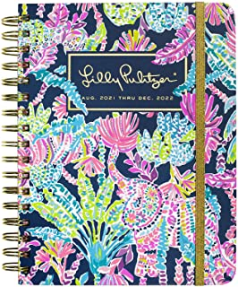 Lilly Pulitzer Large 2021-2022 Planner Daily Weekly Monthly, Hardcover Agenda Dated Aug 2021 - Dec 2022, 17 Month Calendar...