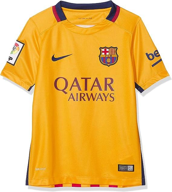 Nike FC Barcelona seconda Completo 2015/2016-Maglia Ufficiale, Ragazzo