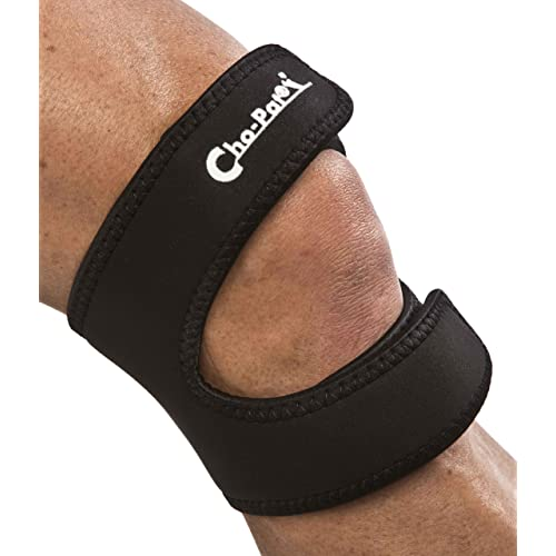 9e9c22b8ec Cho-Pat Dual Action Knee Strap – Provides Full Mobility & Pain Relief For  Weakened