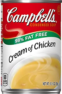 Campbell's Condensed Soup, Cream of Chicken, 10.5 Ounce (Pack of 12)
