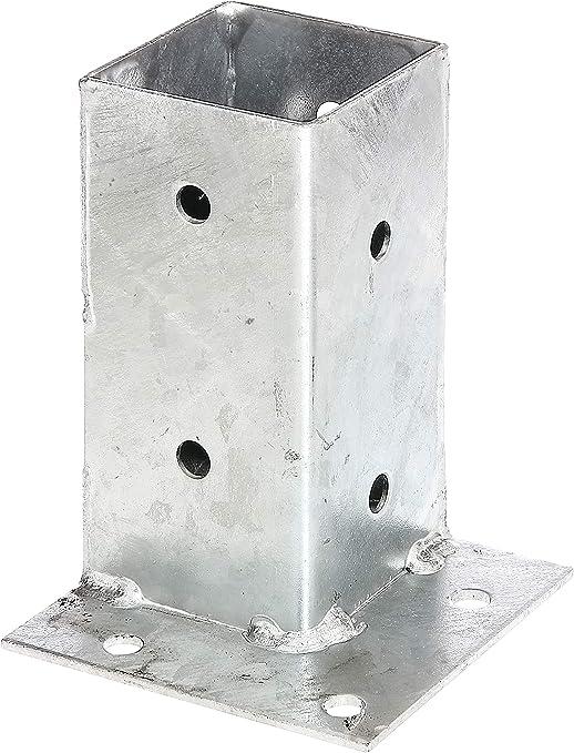 Gesamth/öhe 555 mm zum Aufschrauben feuerverzinkt GAH-Alberts 690663 Nummernschild-Befestigung