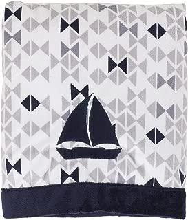 sailboat baby blanket