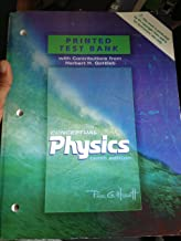 Printed Test Bank for Conceptual Physics 10th Edition by Paul G Hewitt 2006 ISBN 0805391932