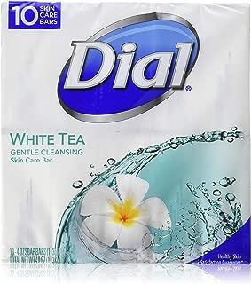 Dial White Tea 10 Glycerin Bars.