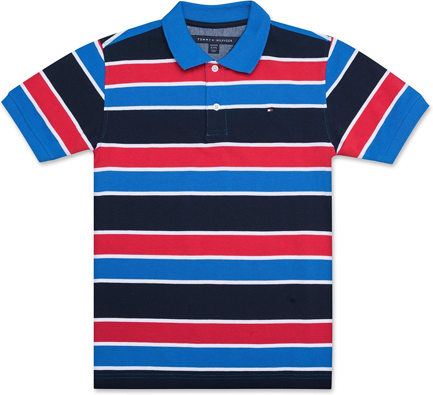 Tommy Hilfiger Boys Stripe Polo Shirt