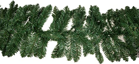 Clever Creations Christmas Pine Branch Garland Festive Holiday Décor   Realistic Pine Branches   Poseable Artificial Pine Needles   Classic Christmas Decorations   8.5' Long
