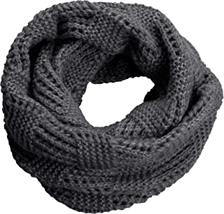 NEOSAN Women's Men Thick Winter Knitted Infinity Circle Loop Scarf