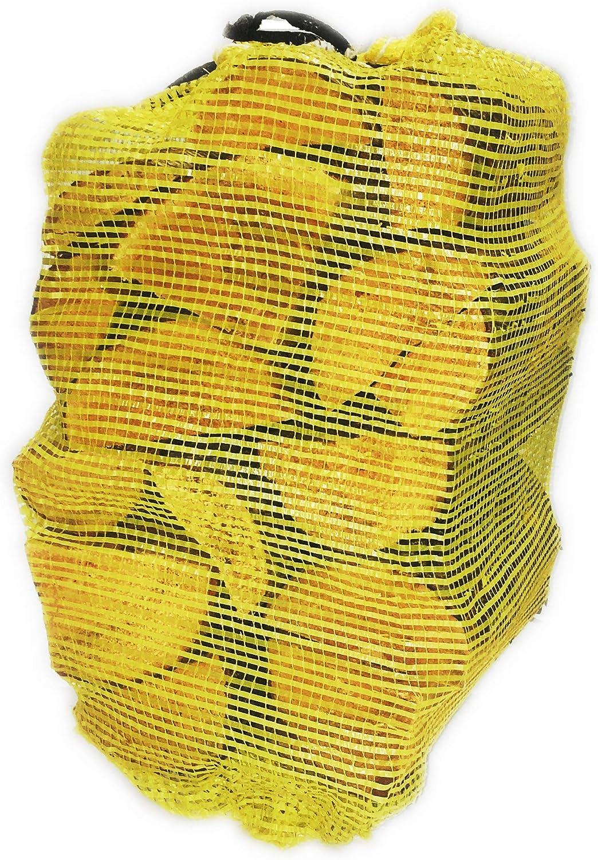 fogatas chimenea bolsa de 22 l chimenea Alderline hornos de pizza y m/ás 25 cm Troncos de le/ña secados para chimenea chimenea