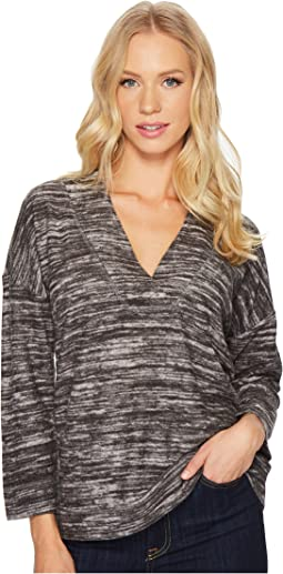 Lilla P - Reversible Drop Shoulder V-Neck