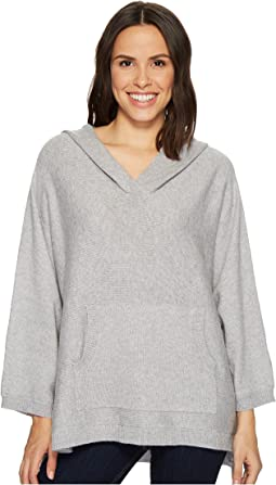 TWO by Vince Camuto - Dolman Sleeve Relaxed Hooded Sweater