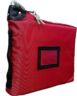 Prescription Medication Bag Standard Lock Travel Case (Red)