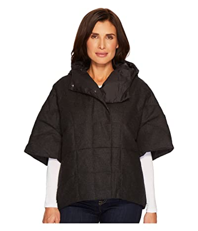 NAU Down Wool Stole (Caviar Heather) Women