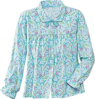 La Cera Flannel Bed Jacket