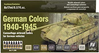 Vallejo 1940-1945 German Colors Model