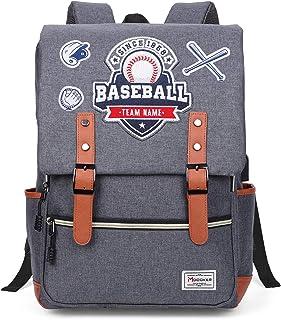 Modoker Fashion Laptop Rucksack Backpack Teens Backpack for Girls Boys with USB Charging Port, Vintage Bookbag, Grey 001