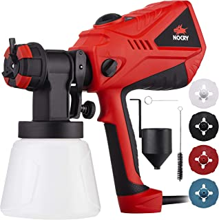 NoCry 1200ml/min Electric Paint Sprayer – 5A/600W Motor, 100 DIN/s Max Viscosity,..