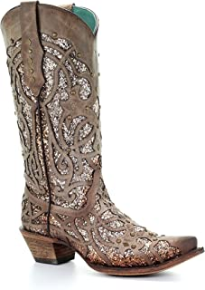 Best glitter cowboy boots Reviews