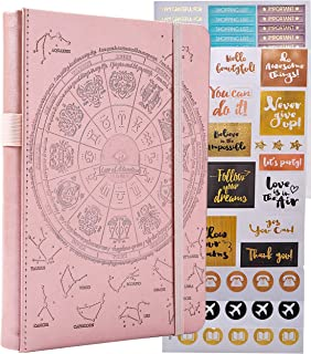 $26 » Law of Attraction Life & Goal Planner - A 12 Month Journey Creating Your Dream Life - Personal Gratitude Journal, Week Success Planner, Vision Board & Organizer + Planner Stickers