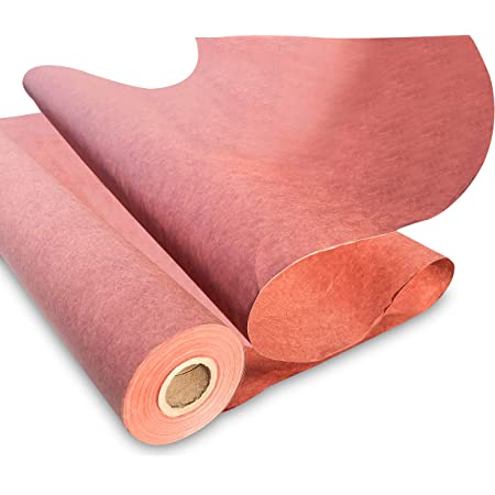 """Aspiree Pink Butcher Kraft Paper Roll 17.75"""" x 1200"""" (100ft), Food Grade Butchers Peach Paper, Ideal for BBQ Smoking Wrapping of M."""