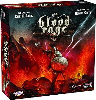 Asmodee Blood Rage Estrategia Niños y Adultos - Juego de Tablero (Estrategia, Niños y Adultos, 60 min, 90 min, 14 año(s), Alemán)