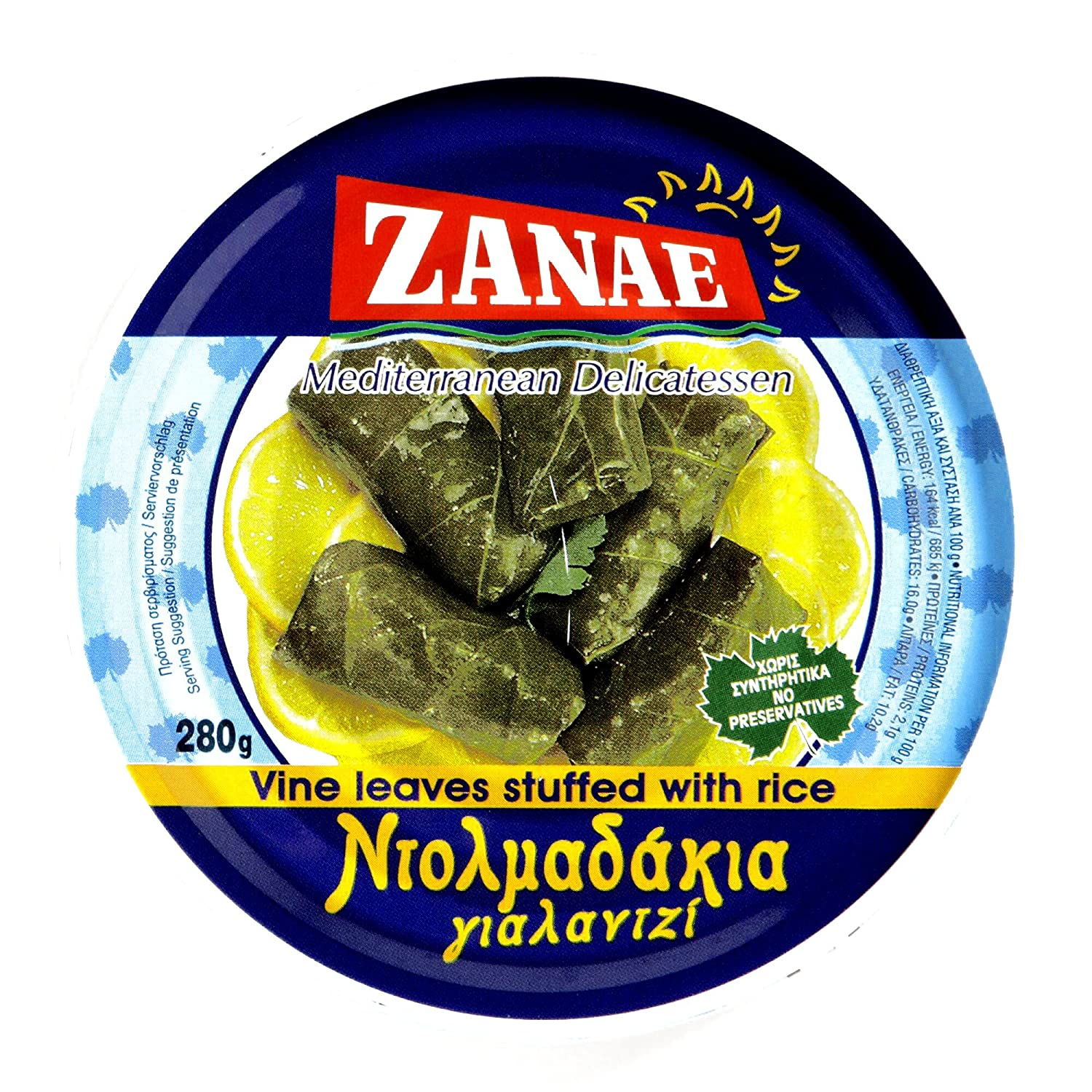 Zanae free Vine Leaves Sale Special Price Stuffed with Items Order Rice Per 6