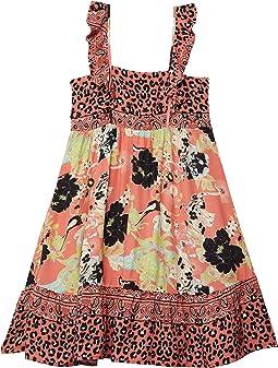 Whispering Roses Groom Short Dress Cover-Up (Little Kids/Big Kids)