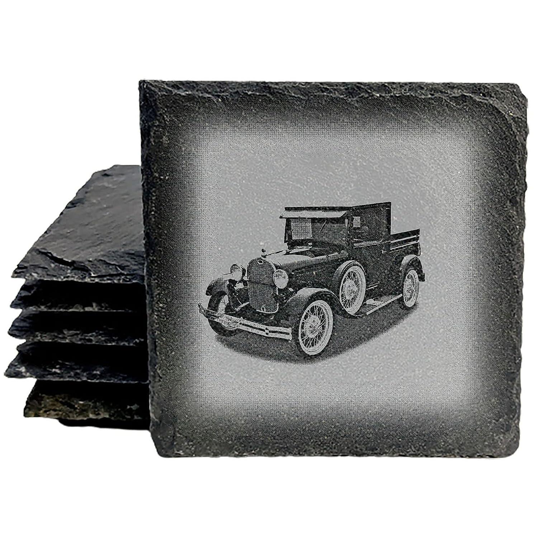1929 Direct sale of manufacturer Ford Pickup [Alternative dealer] Truck Coasters - 8 Square Slate set