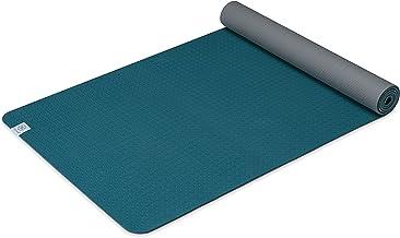 حصيرة اليوجا من Gaiam Performance TPE Exercise & Fitness Mat لجميع أنواع اليوغا، البيلاتيس وتمارين الأرضية